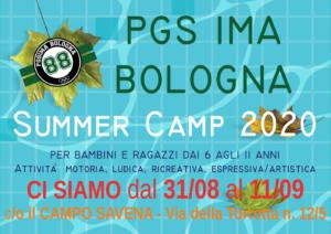 SUMMER CAMP SETTEMBRE BOLOGNA